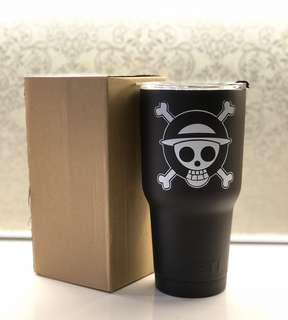 One piece thermal flask