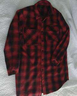 Long flannel