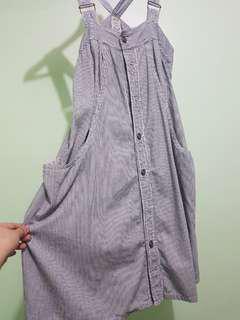 Striped Jumper Dress