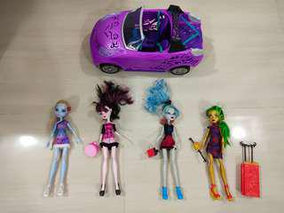 Monster High figurines