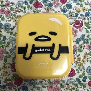 Sanrio 蛋黃哥 gudetama 食物盒 儲物盒