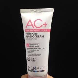 Merphil AC+ All in one Magic Cream