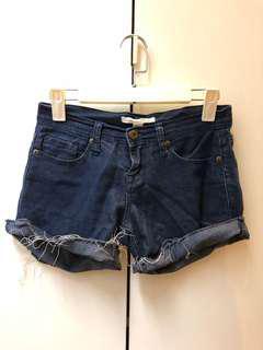 Forever 21 Denim Distressed Shorts
