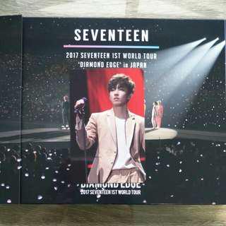 [WTS/WTT] Seventeen 2017 1st World Tour 'Diamond Edge' in Japan Wonwoo photocard Rare