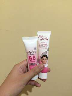 Bb cream + tone up cream