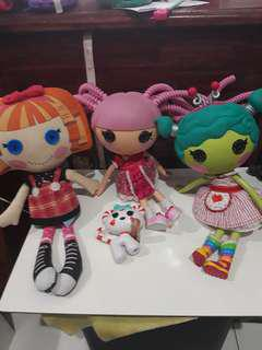 Full size Lalaloopsy Doll Bundle plus Lalaloopsy Plushie