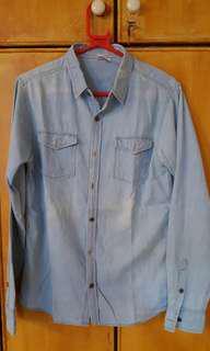 Denim look shirt M