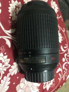 Nikon Lens 55-200 mm