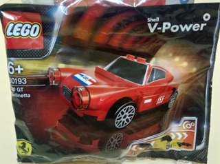 Lego Ferarri Berlinetta Shell not city marvel