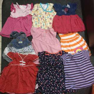 Baby girl clothes + Free delivery