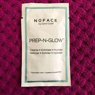 🤑 NU FACE Prep N Glow Sample