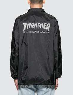 Thrasher Black Coach Jacket