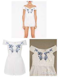 Alice McCall new with tags embroided playsuit