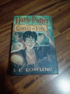 Harry Potter And The Goblet Of Fire - Hard cover