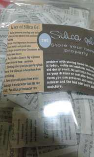 SILICA GEL MOISTURE ABSORBENTS