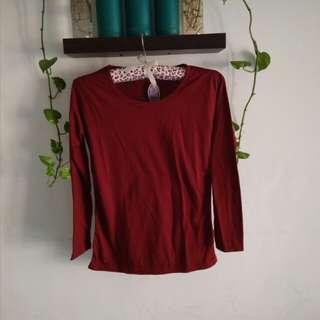 Kaos basic Lengan Panjang