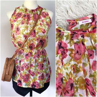 Jellybean floral top
