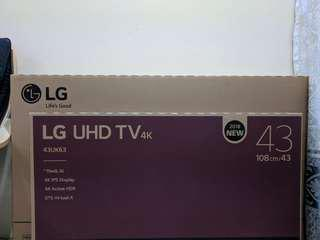 LG 43 SMART 4K HDR