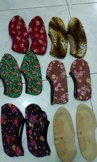 6 pasang kaos kaki tebal wanita motif