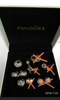 Pandora Charms 已經絕版 每粒不同價錢