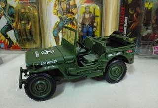 Die- cast jeep 1:18 scale