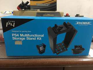 Ps4 multi function storage stand