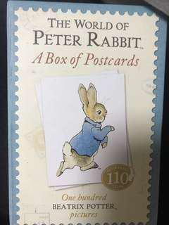 THE WORLD OF PETER RABBIT: A BOX OF POSTCARDS, ONE HUNDRED BEATRIX POTTER PICTURES