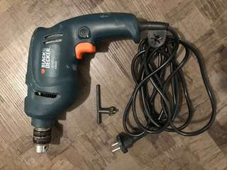 Black and Decker Drill 450W (Reserved)