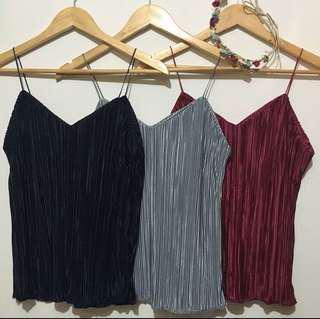 Black Cami String Top