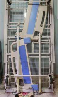 2-crank manual hospital bed frame