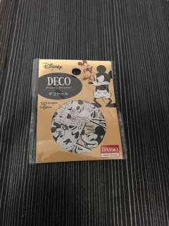 Mickey mouse米奇老鼠 貼紙 50 張 (10款每款各5張)