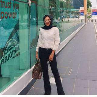 White Lace Top (ready stock)