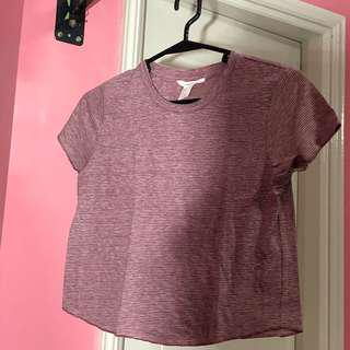 F21 Faded Red Top