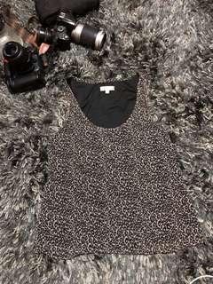 Temt Leopard Print Blouse