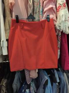 Orange skirt 50k pilih 3 pcs