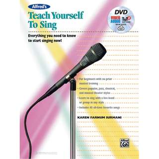 ALFRED'S TEACH YOURSELF TO SING (WITH DVD, ONLINE AUDIO & SOFTWARE)