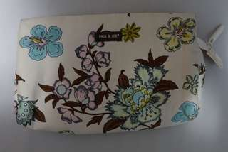 Floral make up pouch