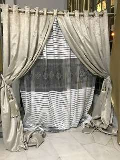 Home made curtains 😊