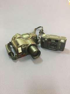 知名品牌零件照相機(2台)