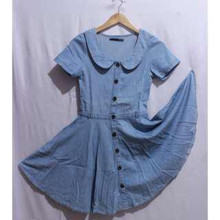 Heather Soft Jeans Dress