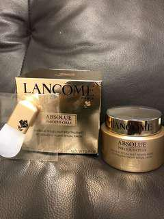 Lancôme Absolue Precious Cells Night Mask 面膜