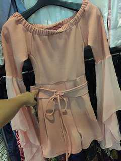 Dress tangan terompet