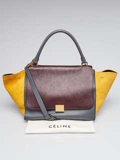 Authentic Celine Trapeze handbag bag RARE