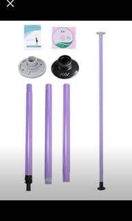 Portable pole dancing pole