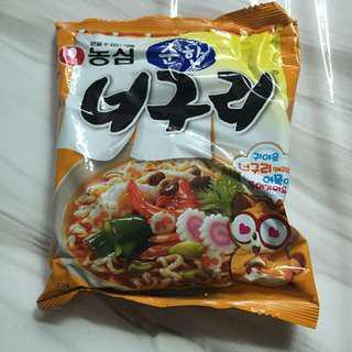 現貨 韓國帶回 農心 小浣熊 泡麵 拉麵 原味 농심 너구리