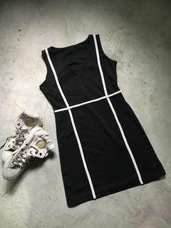 Dress - Black & White Dress