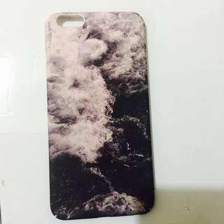 Pink Marble hardcase Iphone 6+