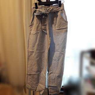 Uniqlo Stripe Cotton Culottes