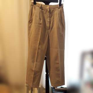 Vintage High Waisted Pants
