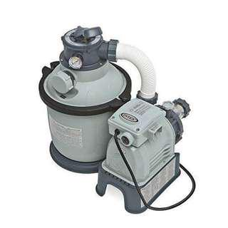 Intex sand filter with free pool